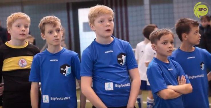 Школа Большого Футбола приняла участие в Футбольном биатлоне от Лиги .БРО